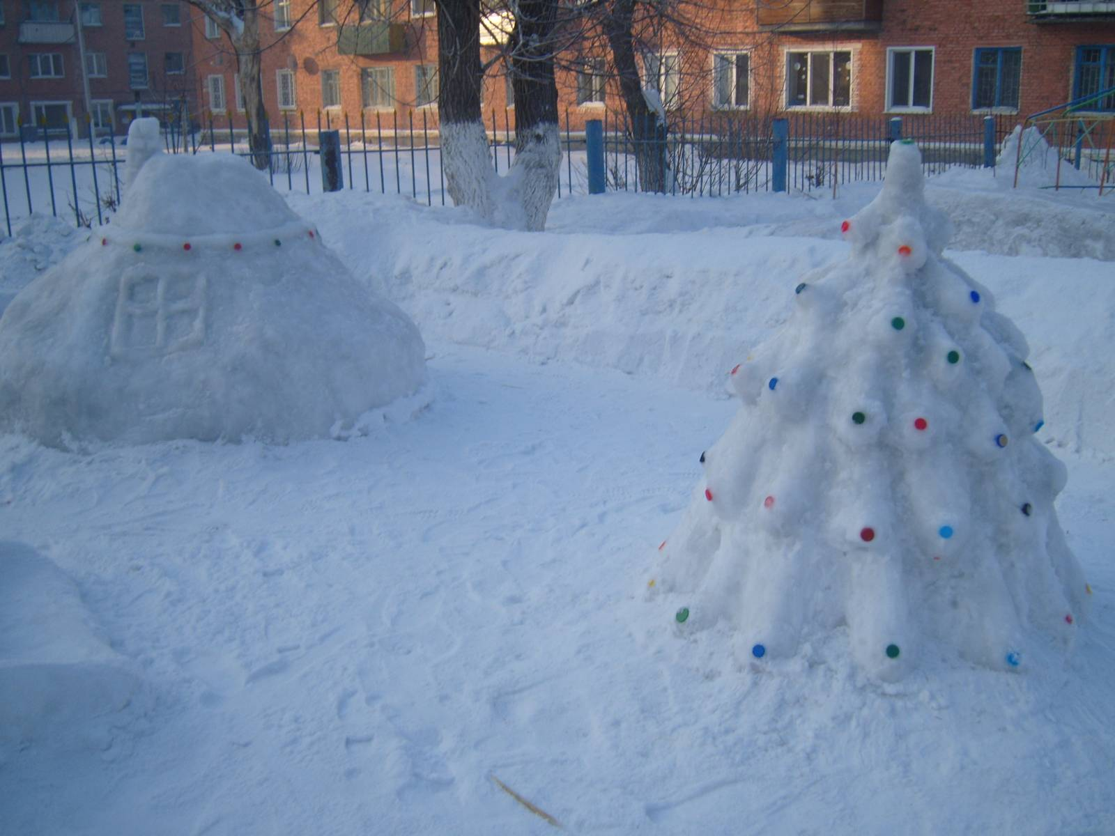 Положение о конкурсе постройки из снега в детском саду